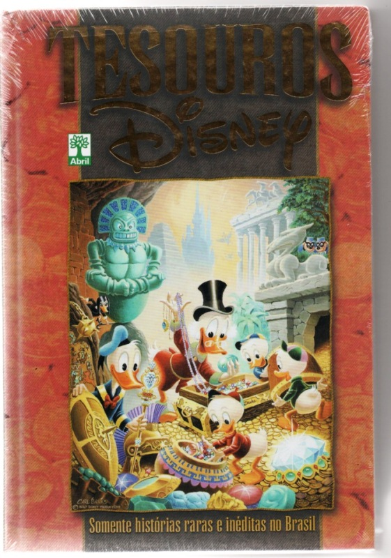 TESOUROS DISNEY - EDITORA ABRIL