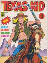 TEXAS KID nº01 - EDITORA ABRIL - 1984