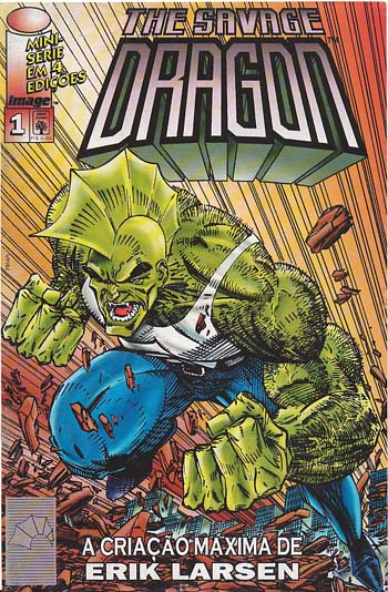 THE SAVAGE DRAGON - MINI-SÉRIE PARTE 1 - ED. ABRIL