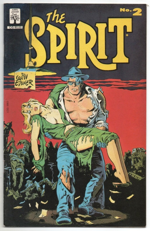 THE SPIRIT n°02 - EDITORA ABRIL