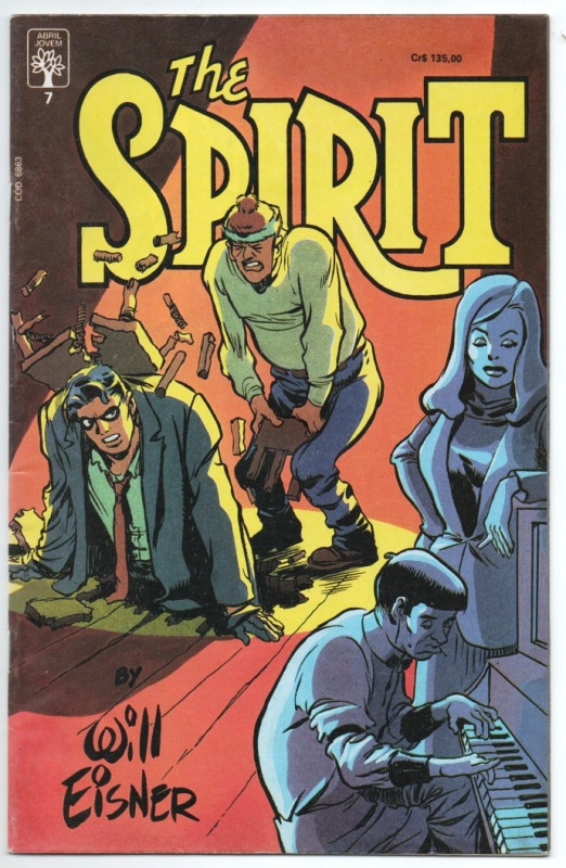 THE SPIRIT n°07 - EDITORA ABRIL