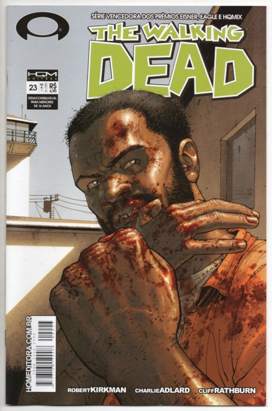 THE WALKING DEAD nº23 - ED. HQM