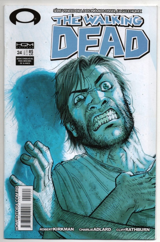 THE WALKING DEAD nº24 - ED. HQM