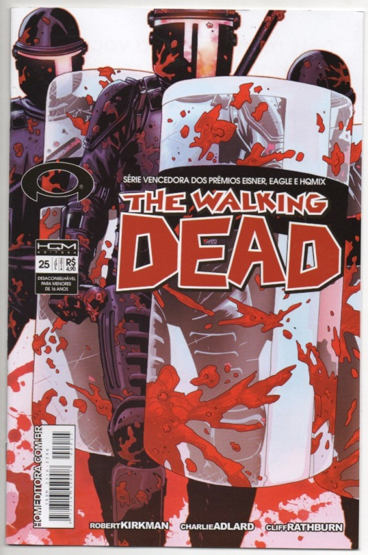 THE WALKING DEAD nº25 - ED. HQM