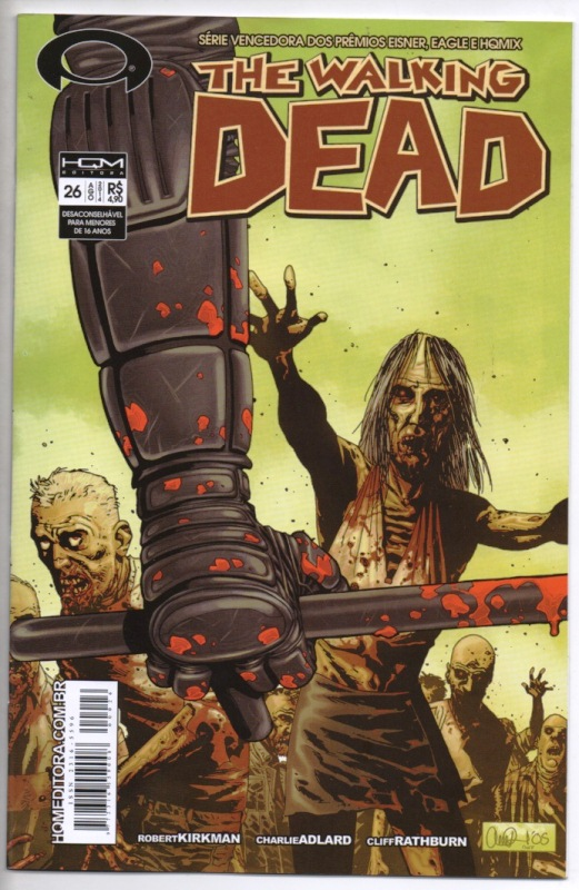 THE WALKING DEAD nº26 - ED. HQM
