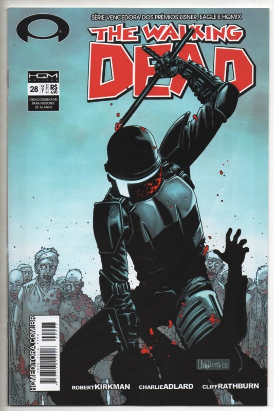 THE WALKING DEAD nº28 - ED. HQM
