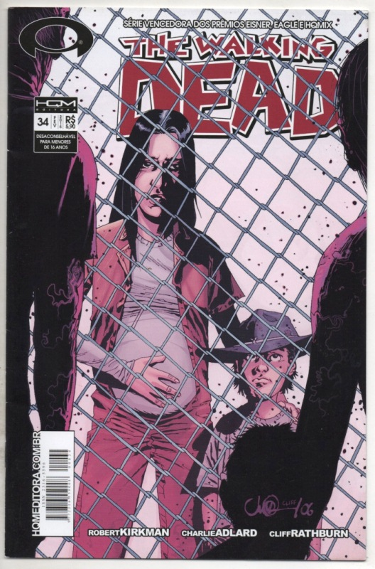 THE WALKING DEAD nº34 - ED. HQM