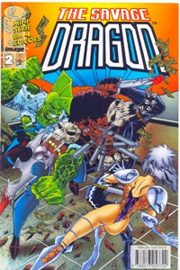 THE SAVAGE DRAGON - MINI-SÉRIE PARTE 2 - ED. ABRIL
