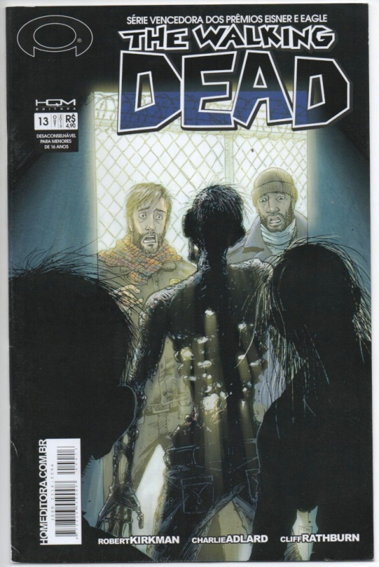 THE WALKING DEAD nº13 - ED. HQM
