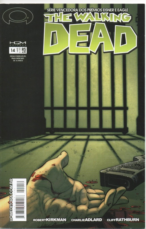 THE WALKING DEAD nº14 - ED. HQM