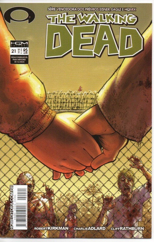 THE WALKING DEAD nº21 - ED. HQM