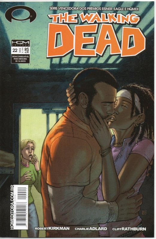 THE WALKING DEAD nº22 - ED. HQM