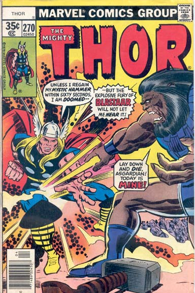 THE MIGHTY THOR #270