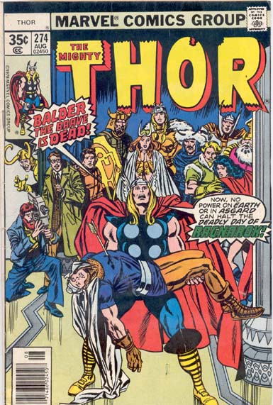 THE MIGHTY THOR #274