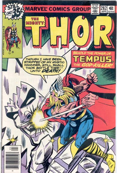THE MIGHTY THOR #282