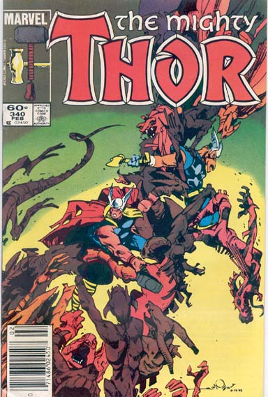 THE MIGHTY THOR #340