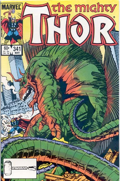 THE MIGHTY THOR #341