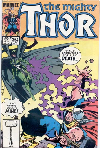 THE MIGHTY THOR #354