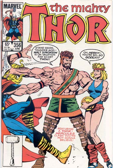 THE MIGHTY THOR #356
