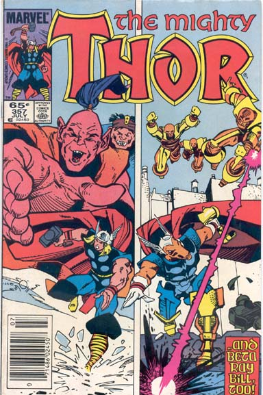 THE MIGHTY THOR #357