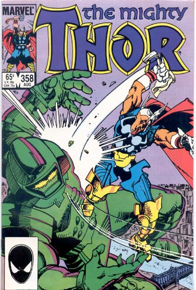 THE MIGHTY THOR #358