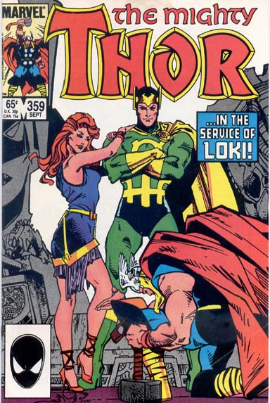THE MIGHTY THOR #359