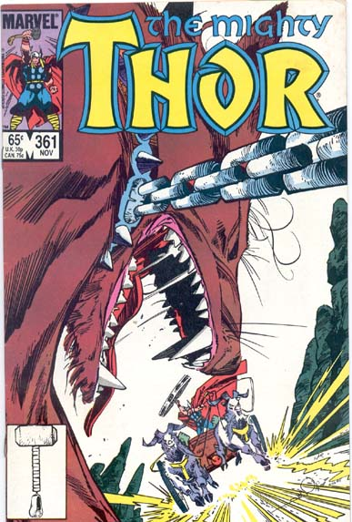 THE MIGHTY THOR #361
