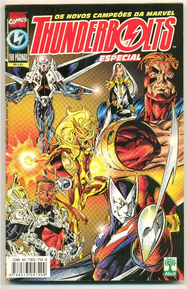 THUNDERBOLTS ESPECIAL - ED. ABRIL