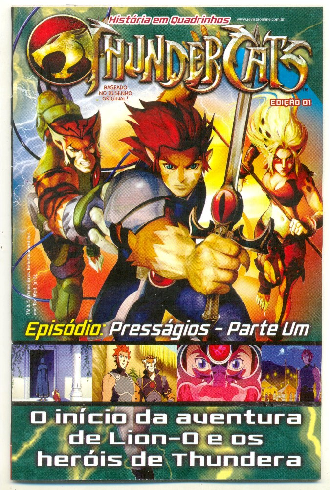 THUNDERCATS nº01 - ED. ON LINE