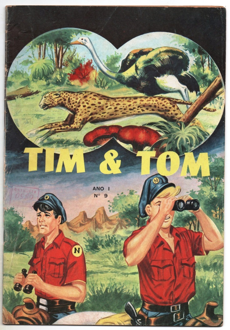 TIM E TOM nº09 - EDITORA LORD COCHRANE