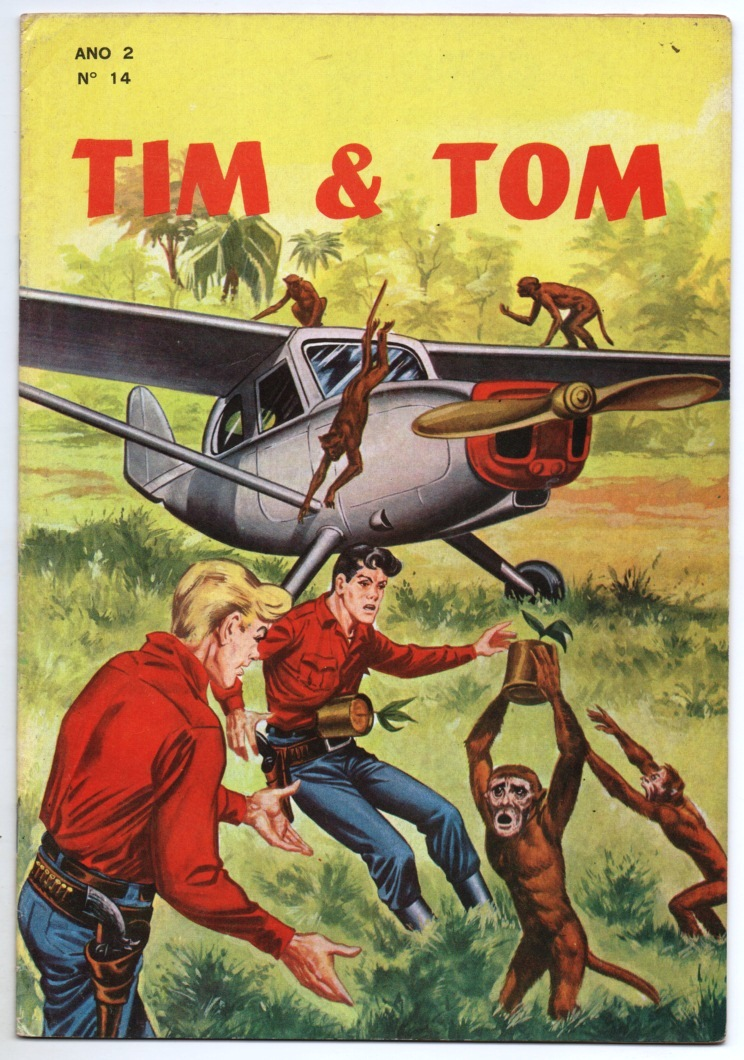 TIM E TOM nº14 - EDITORA LORD COCHRANE