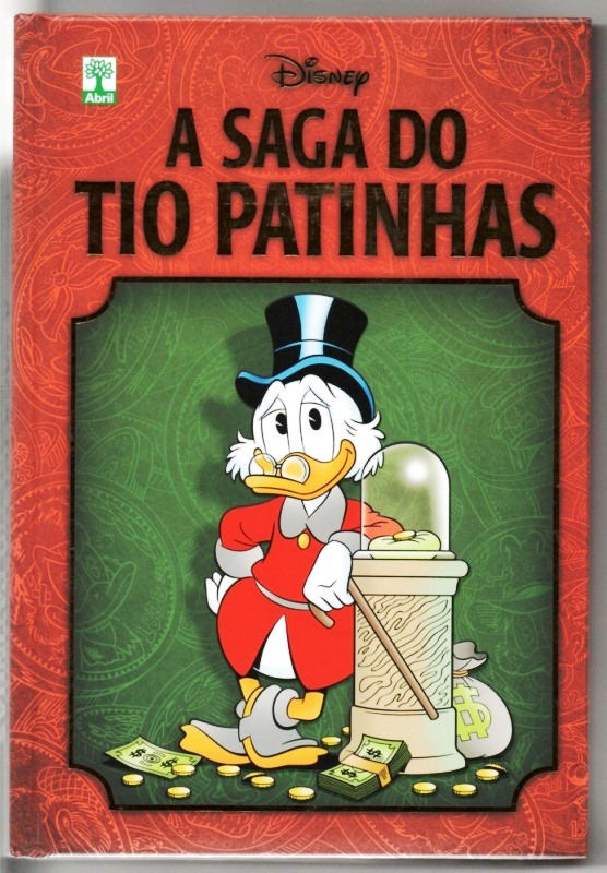 A SAGA DO TIO PATINHAS ENCADERNADA - ED. ABRIL