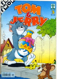 TOM & JERRY nº003 - EDITORA ABRIL