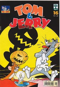 TOM & JERRY nº016 - EDITORA ABRIL