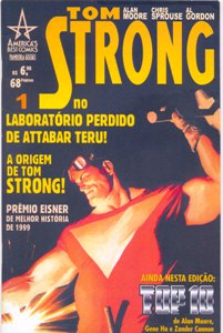 TOM STRONG - PARTE 01 - ED. PANDORA BOOKS