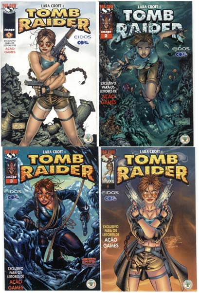 TOMB RAIDER - MINI-SÉRIE COMPLETA - EDITORA ABRIL