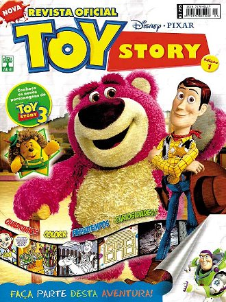 REVISTA OFICIAL TOY STORY nº01 - ED. ABRIL