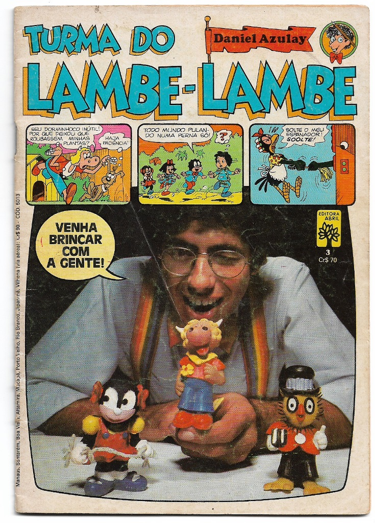 TURMA DO LAMBE-LAMBE - ED. ABRIL - Nº03