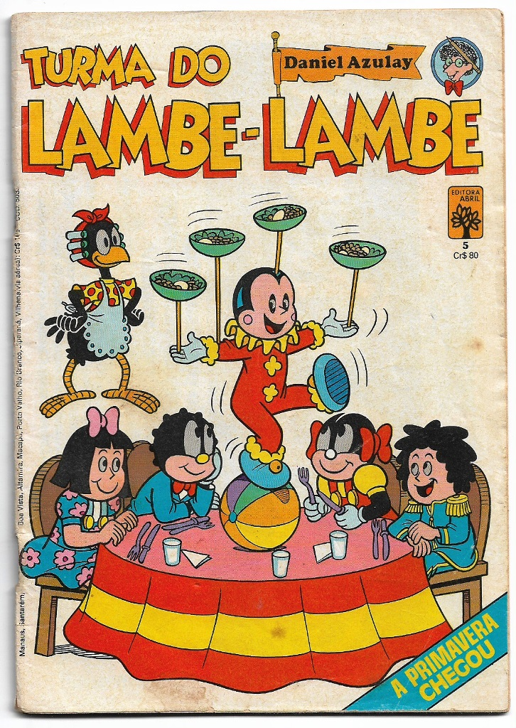 TURMA DO LAMBE-LAMBE - ED. ABRIL - Nº05