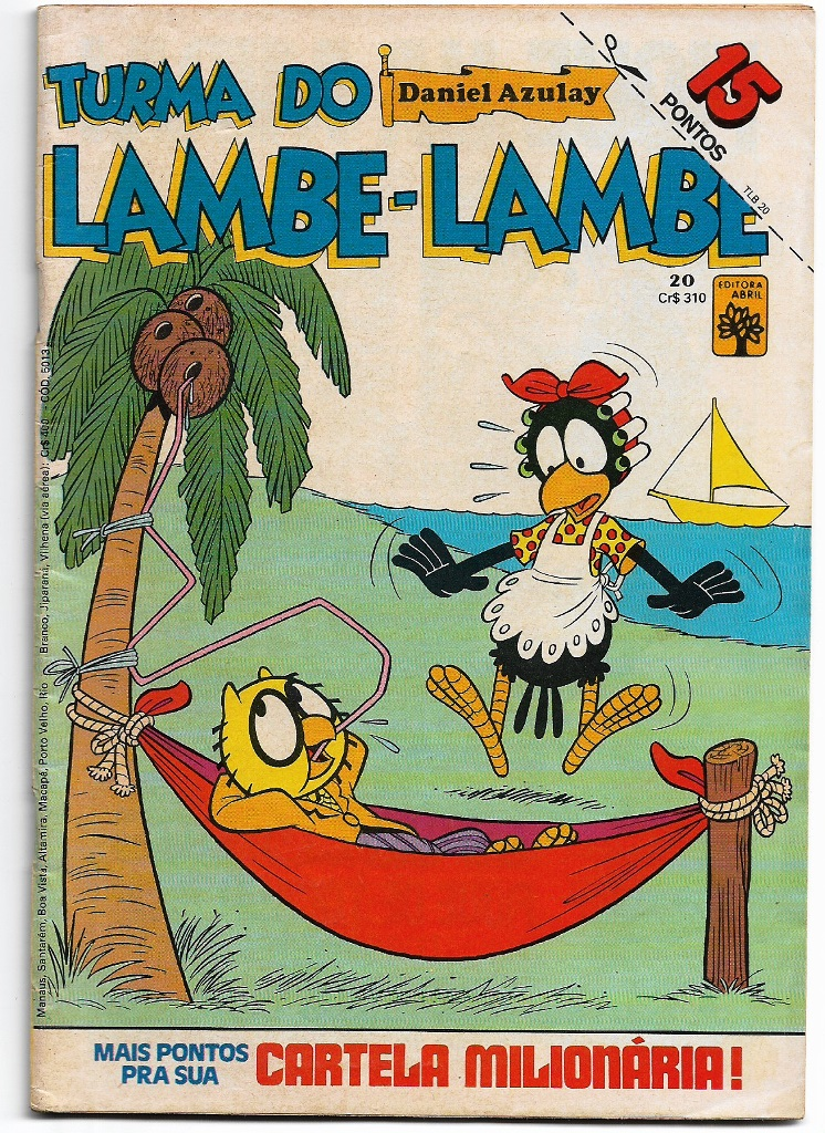 TURMA DO LAMBE-LAMBE - ED. ABRIL - Nº20