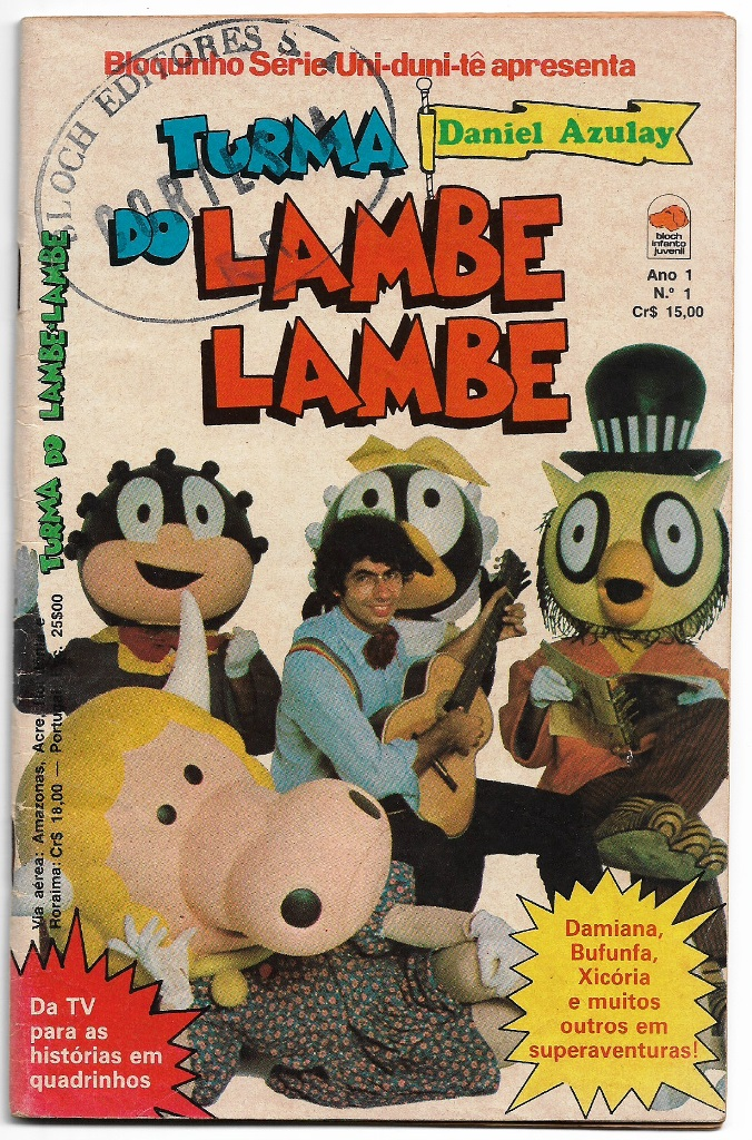 TURMA DO LAMBE-LAMBE - ED. BLOCH - Nº01