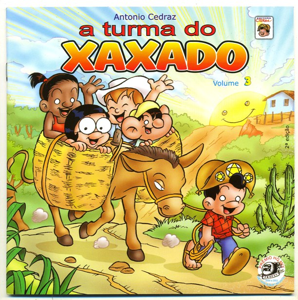 A TURMA DO XAXADO VOLUME 03 - ED. E ESTÚDIO CEDRAZ