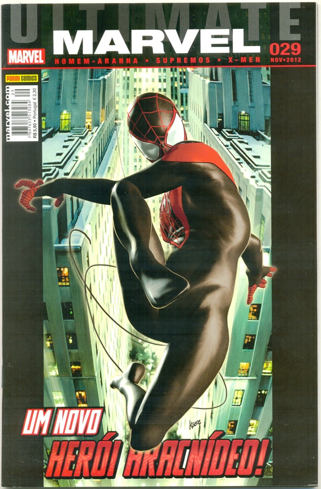 ULTIMATE MARVEL nº29 - EDITORA PANINI