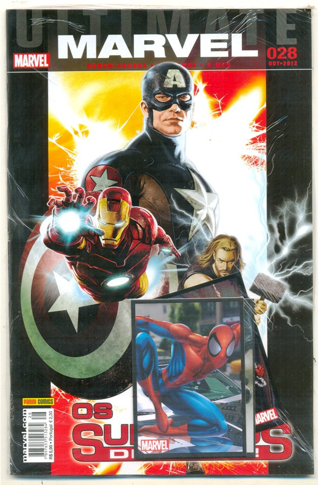 ULTIMATE MARVEL nº28 - EDITORA PANINI