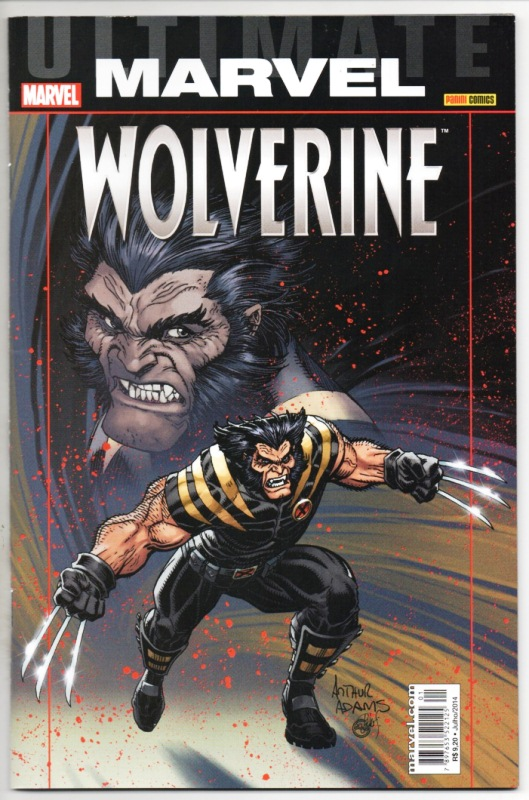 ULTIMATE MARVEL - WOLVERINE - PANINI