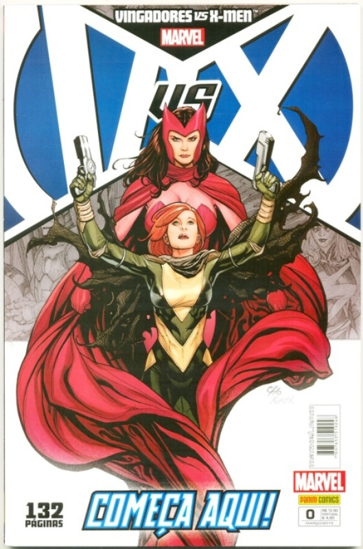 VINGADORES VS X-MEN nº00 - ED. PANINI
