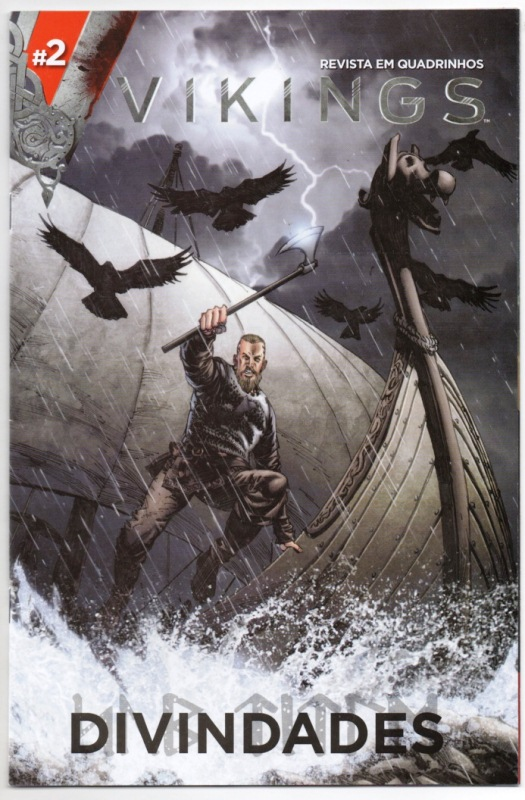 VIKINGS DIVINDADES - nº02 - EDITORA ON LINE