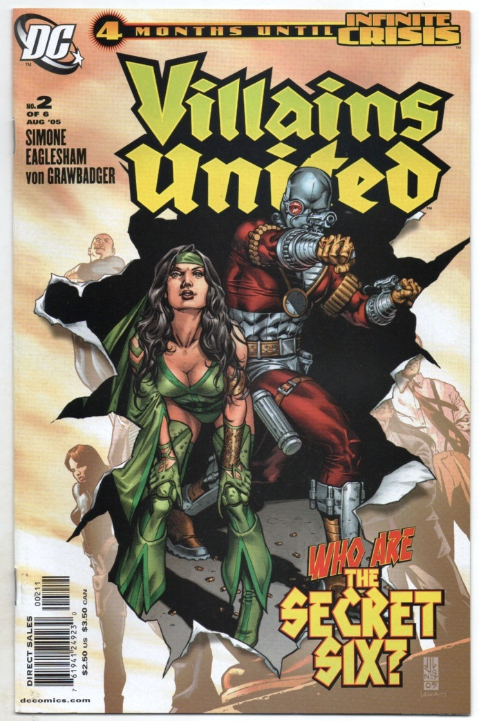 VILLAINS UNITED - MINISSÉRIE PARTE 02