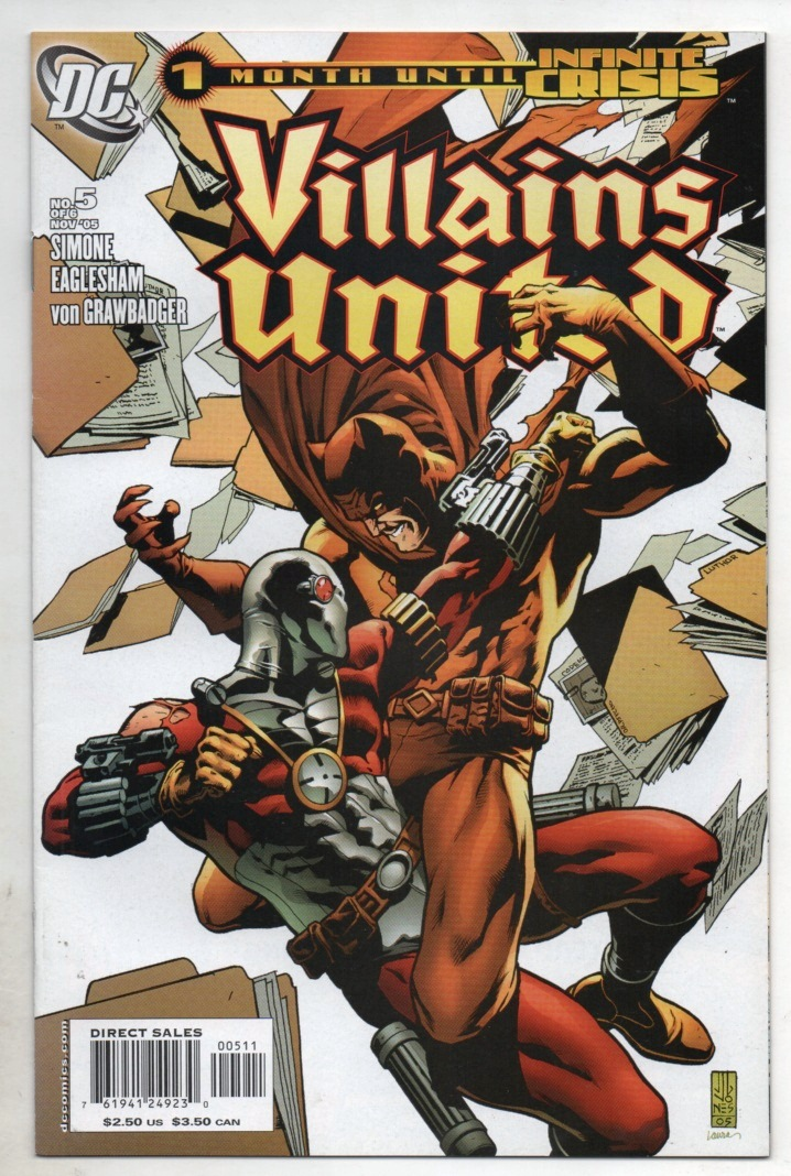 VILLAINS UNITED - MINISSÉRIE PARTE 05