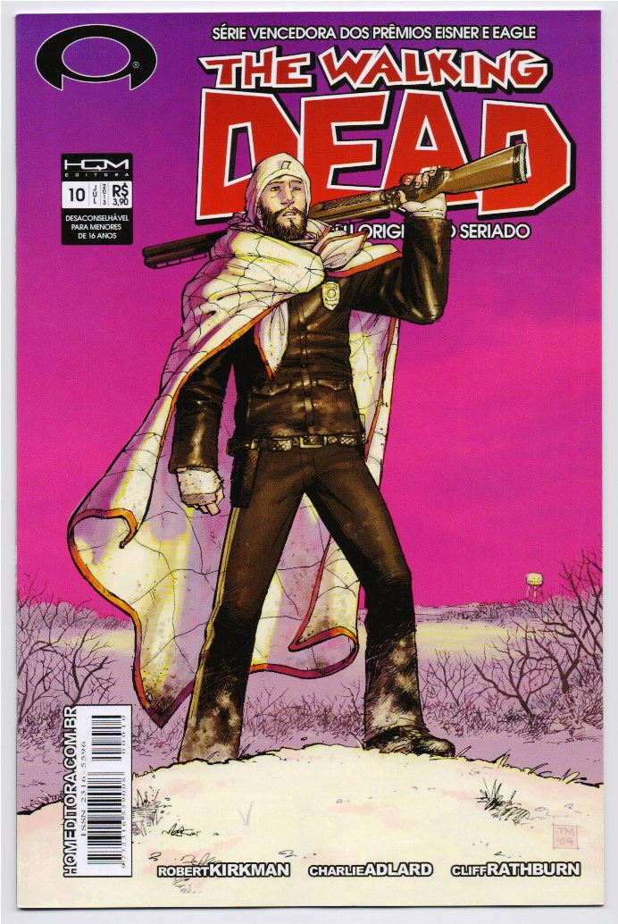 THE WALKING DEAD nº10 - ED. HQM